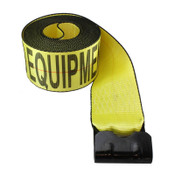 heavy duty winch strap yellow