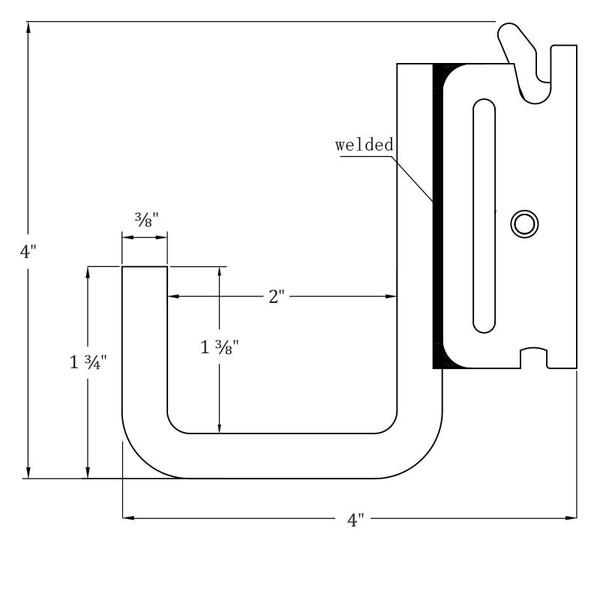 E Track J Hook Application