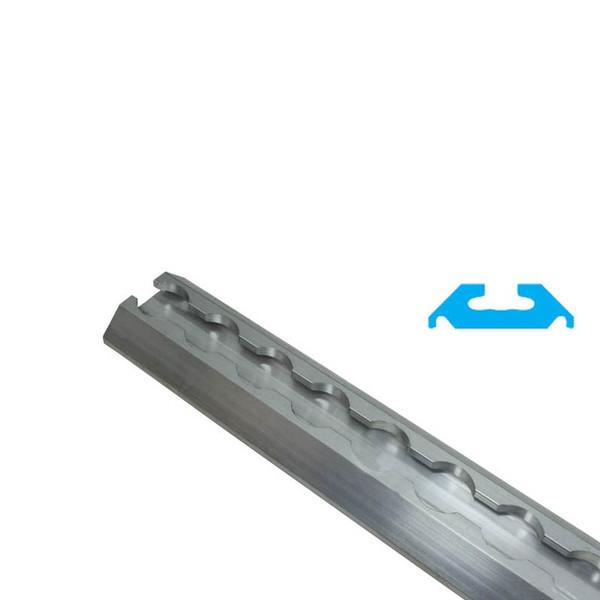 Aluminum Aircraft Grade L Track With 2 000 Lb Wll