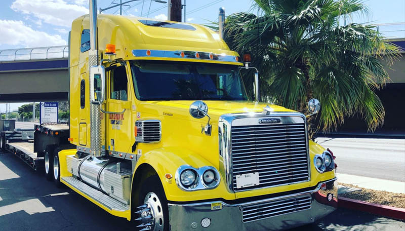 yellow truck covid 19 trucking effect