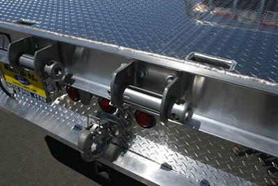 Flatbed Trailer Winches Weld On Sliding Double L Low